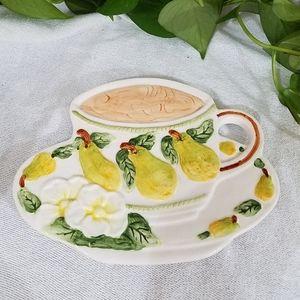 Vintage Ceramic Coffee Picture